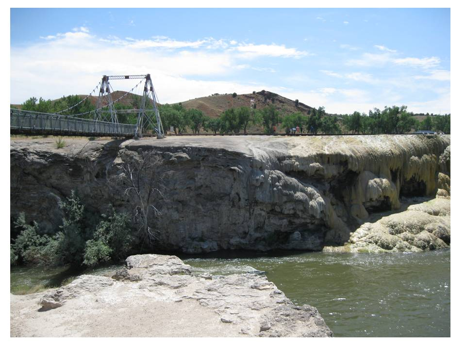 Thermopolis Hot Springs Geology Of Wyoming