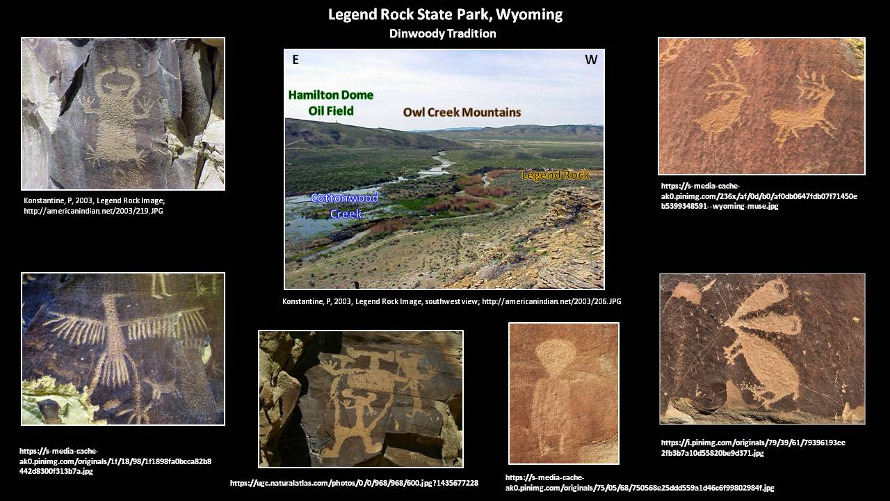 Pictures Legend Rock State Petroglyph Site, Hot Springs County, Wyoming
