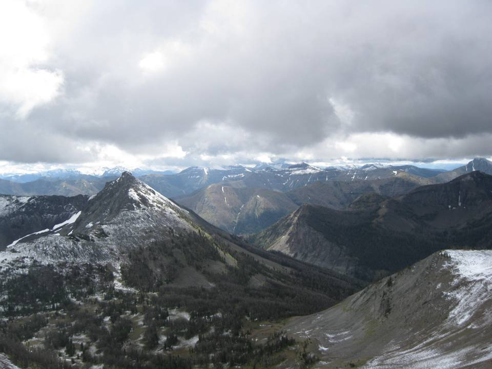 Picture from Avalanche Peak, Yellowstone National Park, Wyoming