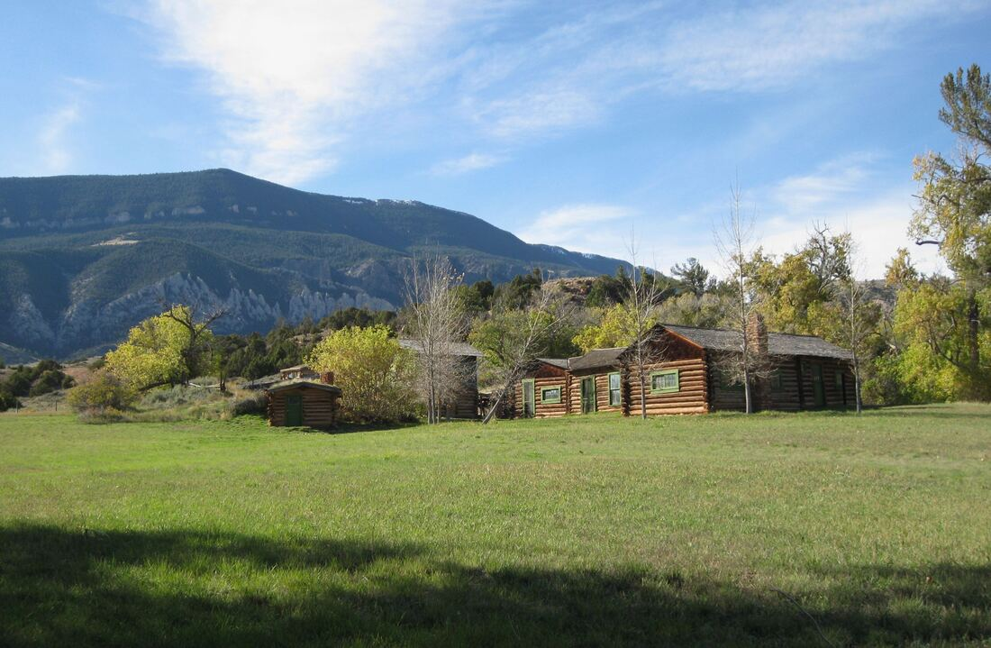 Picture of Lockhart Ranch and East Pryor Mountain, Big Horn Canyon National Recreation Area
