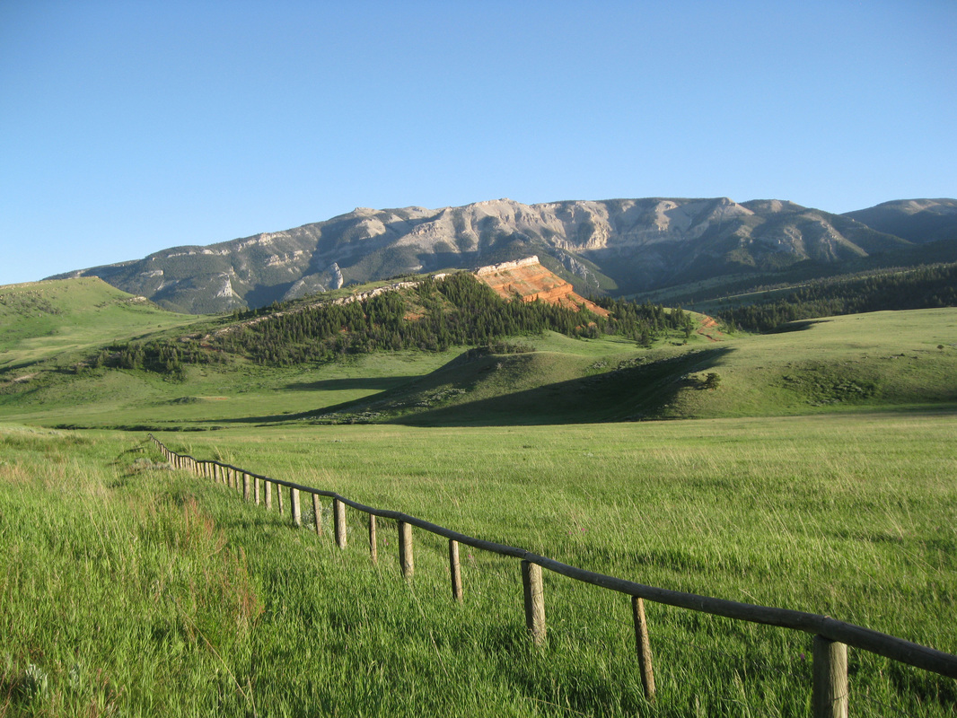 Picture of Pat O'Hara Mountain, Park County, Wyoming