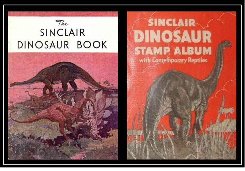 Sinclair Oil dinosaur promotions, 1934