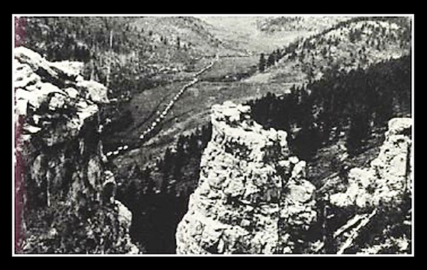 Picture of Custer Black Hills 1874 expedition