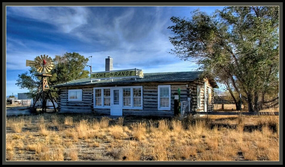 Picture of Peterson homestead, Home on the Range, Jeffrey City, Wyoming