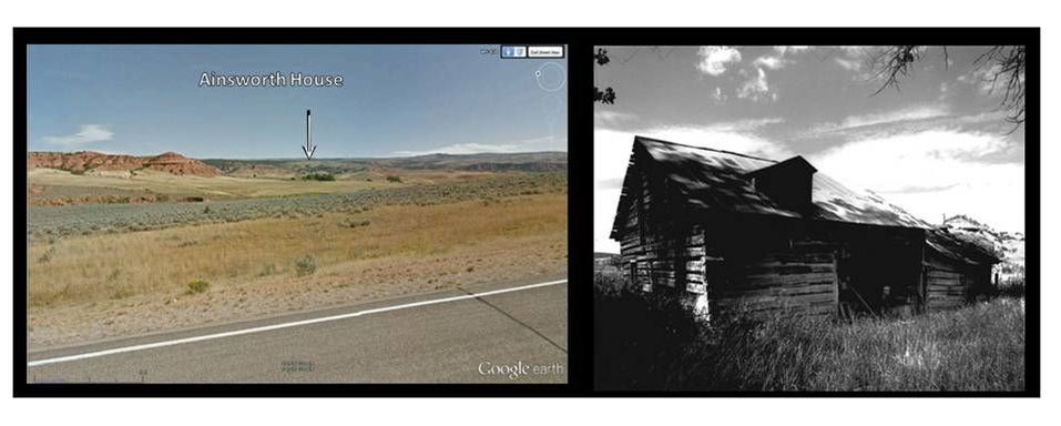 Pictures Ainsworth House, southeast Bighorn Basin