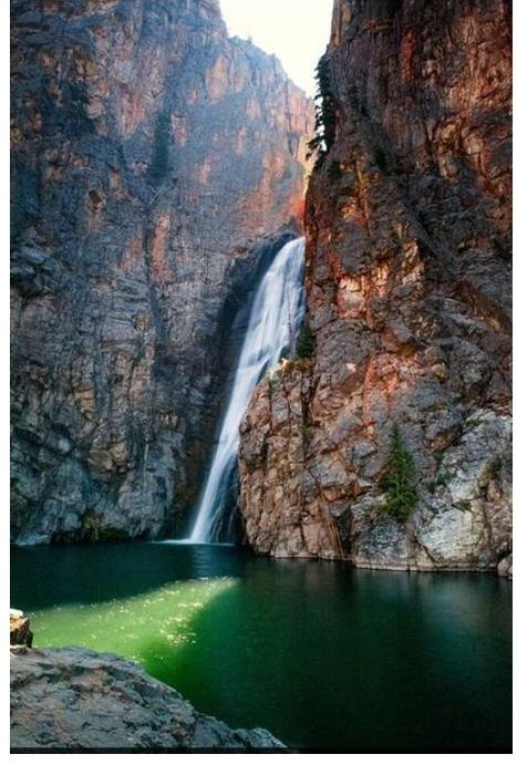 Picture of Porcupine Falls, Big Horn County, Wyoming
