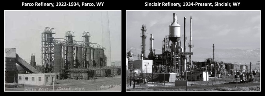 Historic pictures of Sinclair Refinery, Sinclair, Wyoming