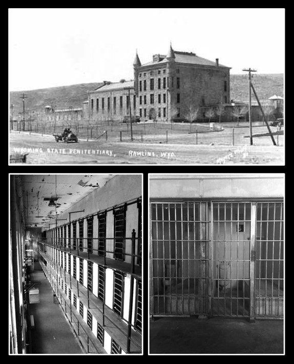 Pictures of old Wyoming Penitentiary in Rawlins, Wyoming