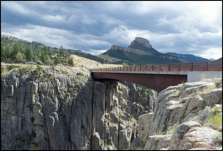 Picture of Sunlight Creek Bridge, Park County, Wyoming